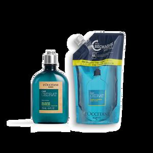 Cap Cedrat Shower Eco Duo, , AU