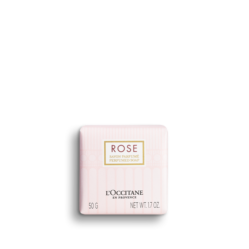 zoom view 1/2 of Rose Perfumed Soap