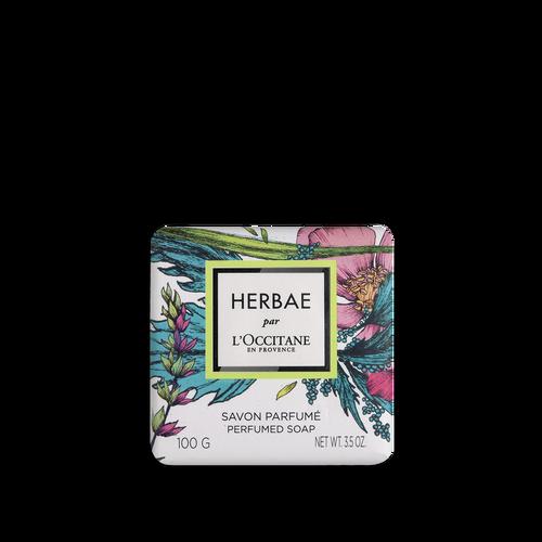 zoom view 1/2 of Herbae par L'OCCITANE Perfumed Soap