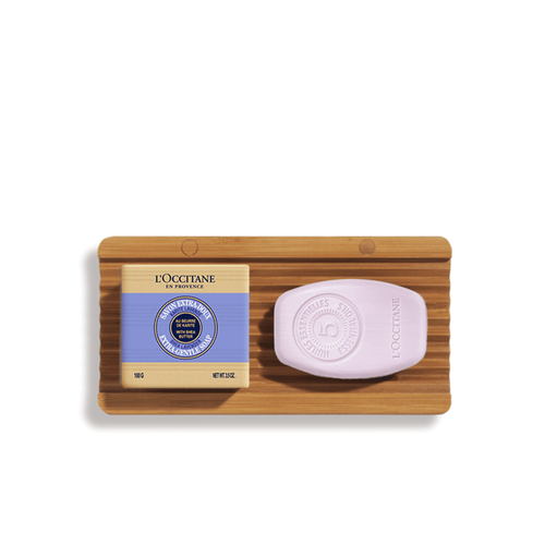 zoom view 1/1 of Gentle Balance Solid Shampoo & Lavender Soap Duo