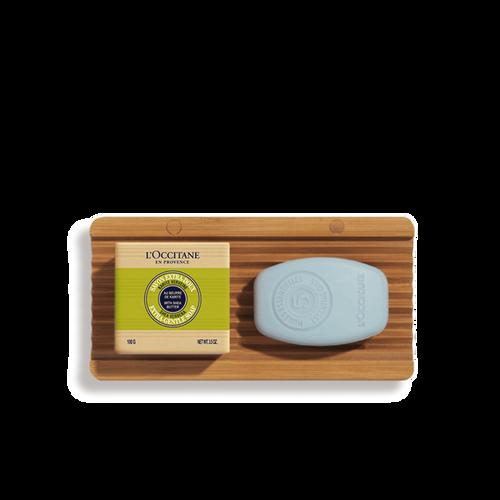zoom view 1/1 of Purifying Shampoo & Verbena Soap Bar Duo