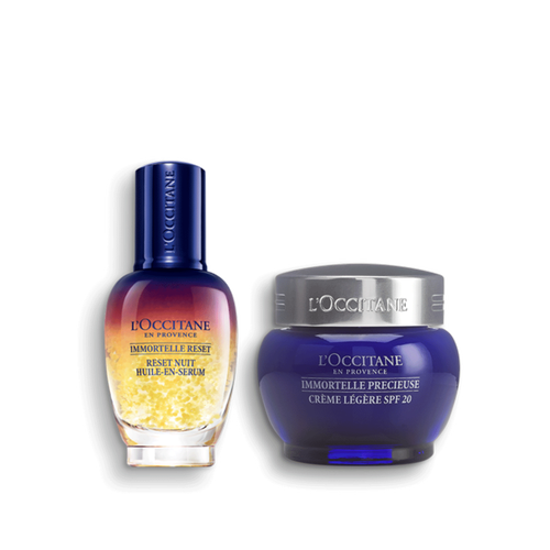 zoom view 1/1 of Immortelle Precious SPF & Reset Duo