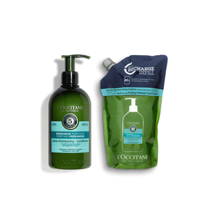 Purifying Conditioner Refill Eco Duo, , AU