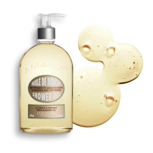 zoom view 1/3 of Almond Shower Oil (Limited Edition Size)