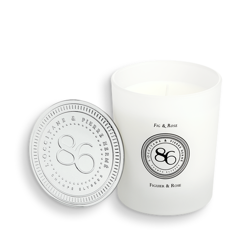 zoom view 1/2 of Fig & Rose - Scented Candle
