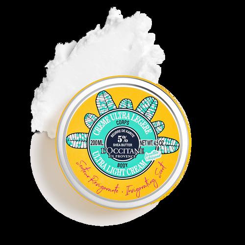 zoom view 1/3 of Happy Shea Invigorating Ultra Light Body Cream