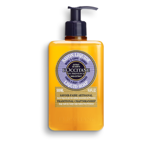 Shea Lavender Liquid Soap, , large