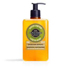 Shea Verbena Liquid Soap, , large